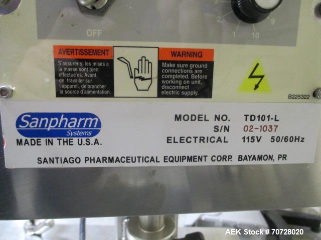 Used- Sanpharm Deduster. Model TD101-L