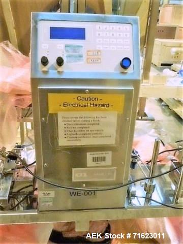 Used-CI Type Sade P4 Tablet Weight Inspection System.