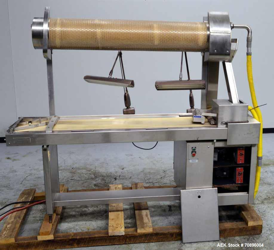 Used- Capsule Polishing and Inspection Table