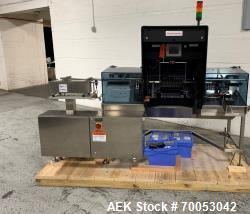Unused Seidenader inspection system, with (2) type V90-AVSB/60 Seidenader semi automatic inspection ...