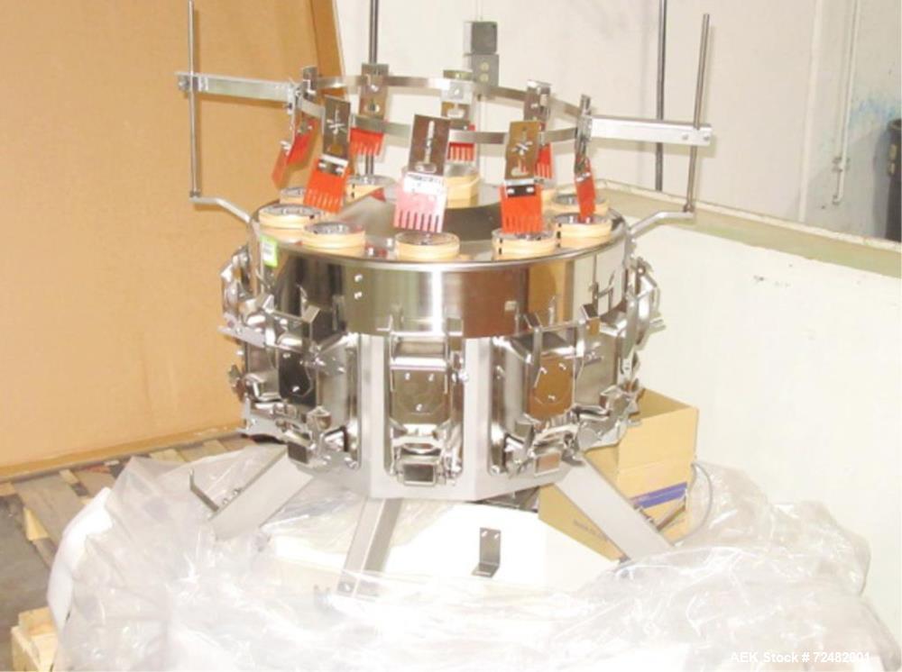 Unused-Ishida Model CCW-RVE-210W-1S 30-PB Stainless Steel Radial Combination Sca