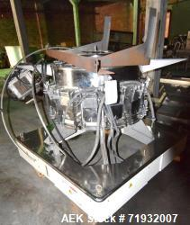 Used- Ishida CCW-R-214W-1S/70-PB 14 Head Combination Scale Parts Machine. Includes a baskets of bucket and miscellaneous par...