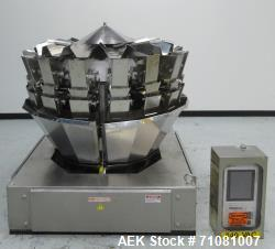Used- Ishida Model CCW-Z-216-WS/20-WP, 16 Head Computer Weigher