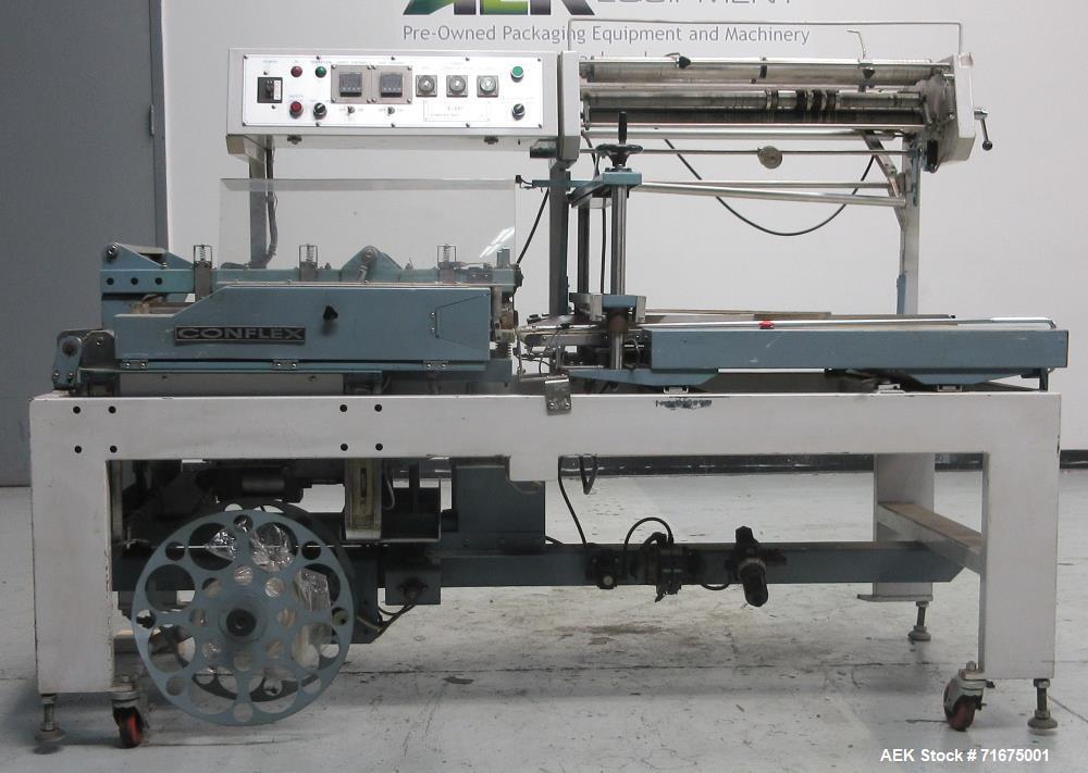 Used- Conflex Model E-266 Automatic L Bar Sealer