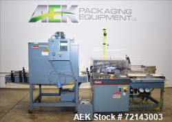 Used- Shanklin Model A26 Automatic Shrink Wrapper w/ Shanklin T7XL Shrink Tunnel