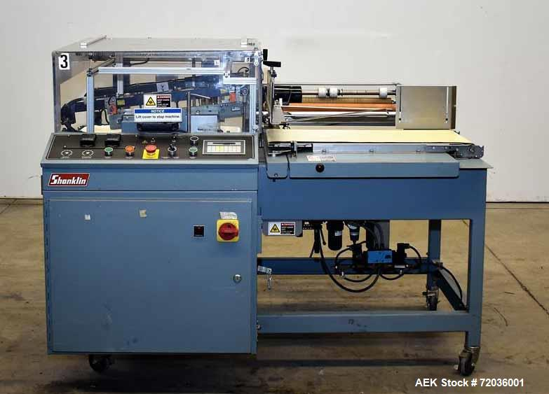 Used- Shanklin Automatic L-Bar Sealer, Model A26A