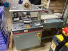 Used- Shanklin Automatic L-Bar Sealer, Model A26A. Capable of speeds up to 35 packages per minute. Has a maximum 26