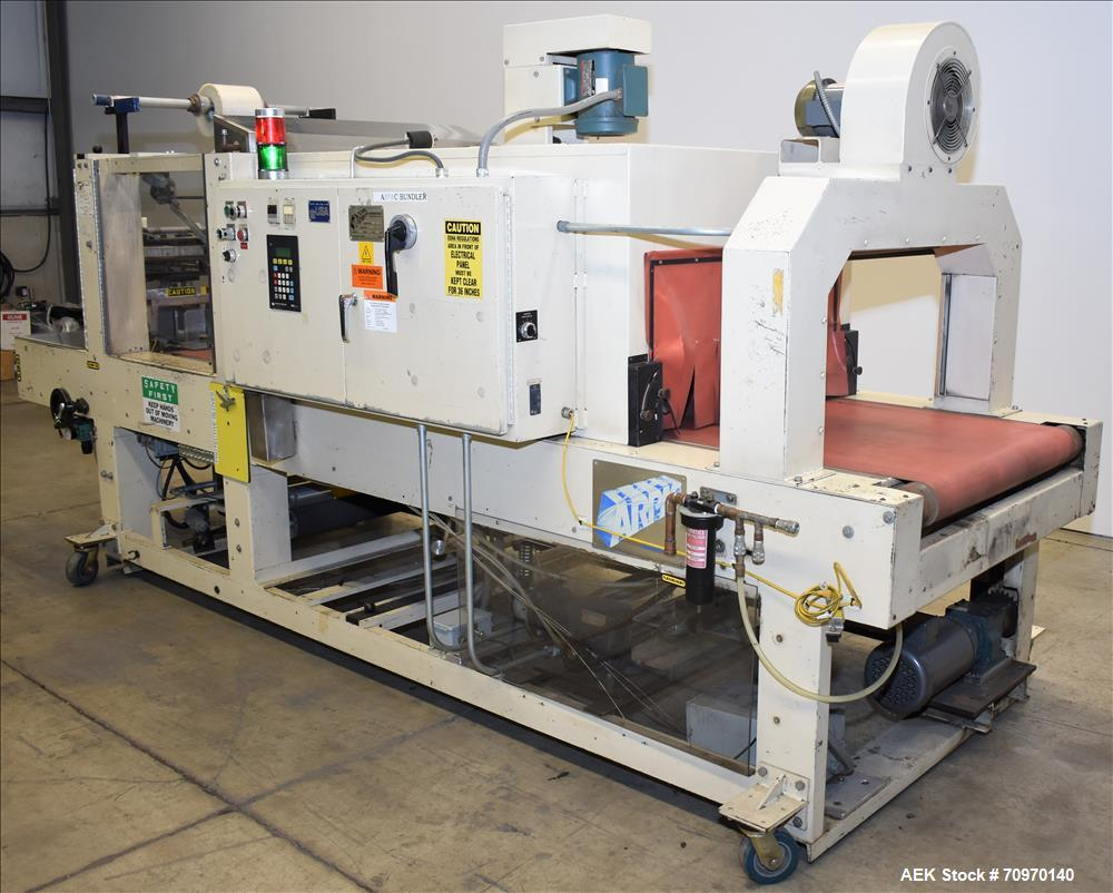 Used- Arpac Model 115-28 Shrink Bundler