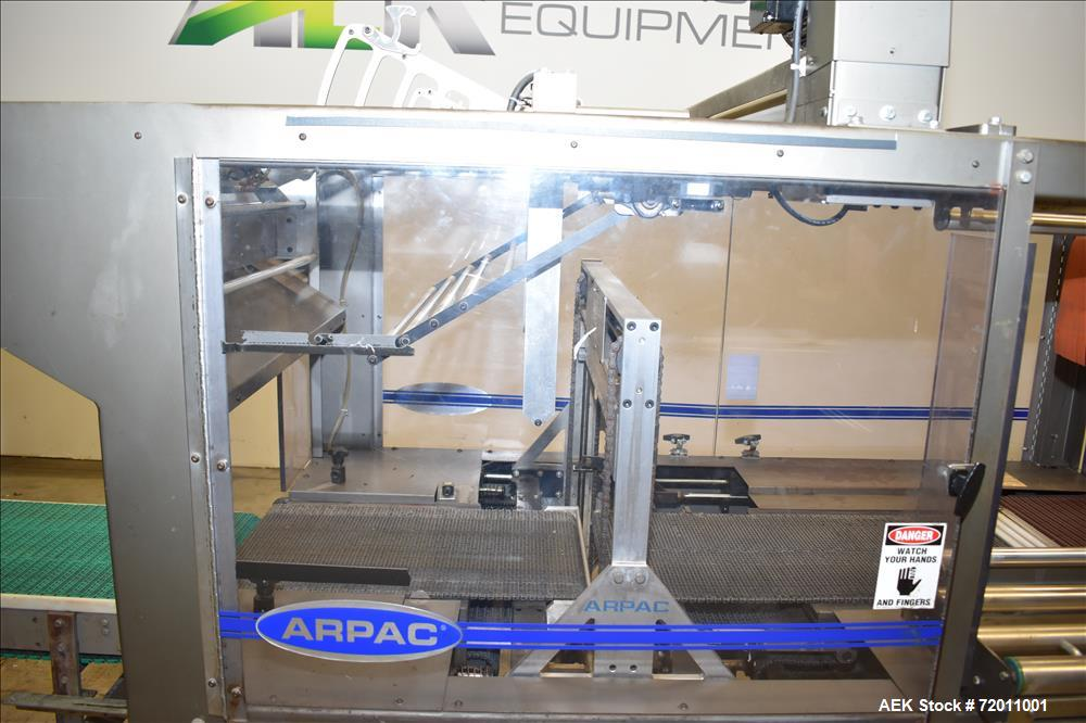 Used- Arpac Model 45TW-28 Automatic Shrink Bundler.