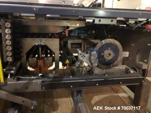Used- Kisters Registered Film Shrink Bundler, Model SW-35