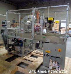 Cam Model ASB-38 Automatic Shrink Bundler for Carton Multi-Packing. Equipped with inline infeed with...