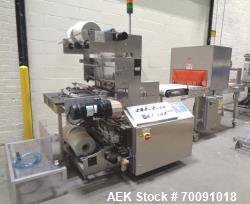 Used- Omega Model DL27 Automatic Dual Lane Shrink Bundler.