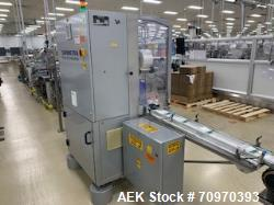 Used-Skinetta (Christ Packaging) Model ASK2500 Shrink Bundler with Shrink Tunnel. Capable of speeds up to 40 cycles per minu...