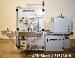 Used- Skinetta Model ASK2500 Shrink Bundler with Shrink Tunnel