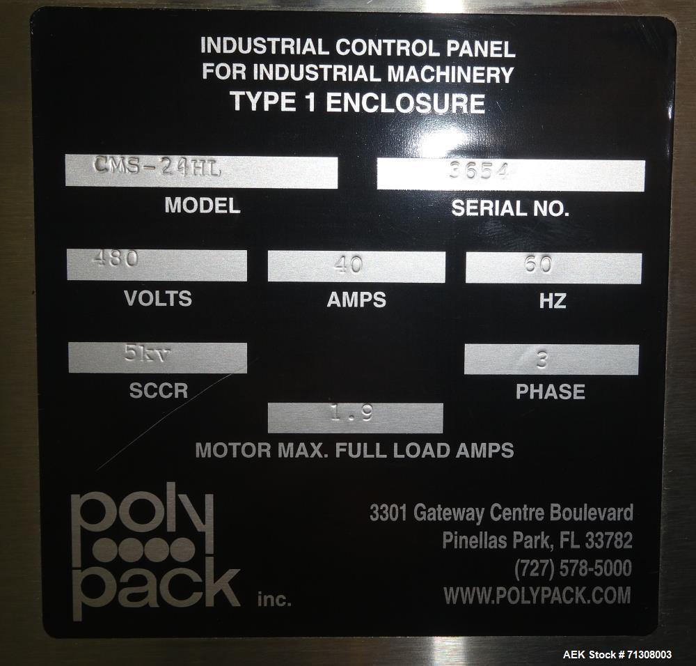 Used- Poly Pack Model CMS-24HL Shrink Bundler