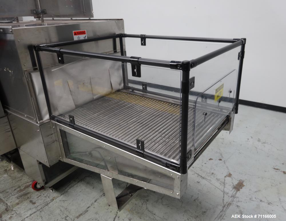 Used- PolyPack Automatic Carton Multipack Shrink Bundler With Ups