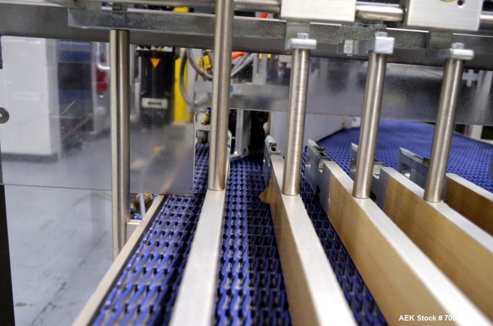 Used- Skinetta Pac-Systems Shrink Bundler / Stretch Bander Dual Lane