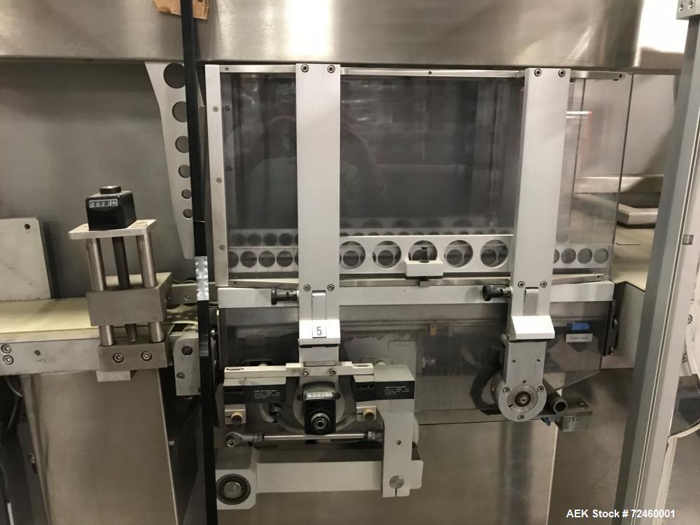 Used-Uhlmann E3025 Stretch Banding Machine
