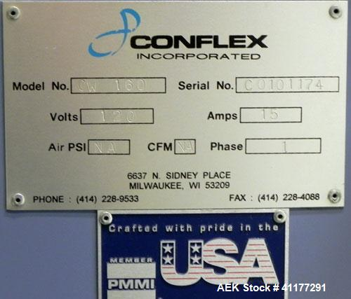 Used- Conflex Model CW-160 Horizontal Shrink Wrapper