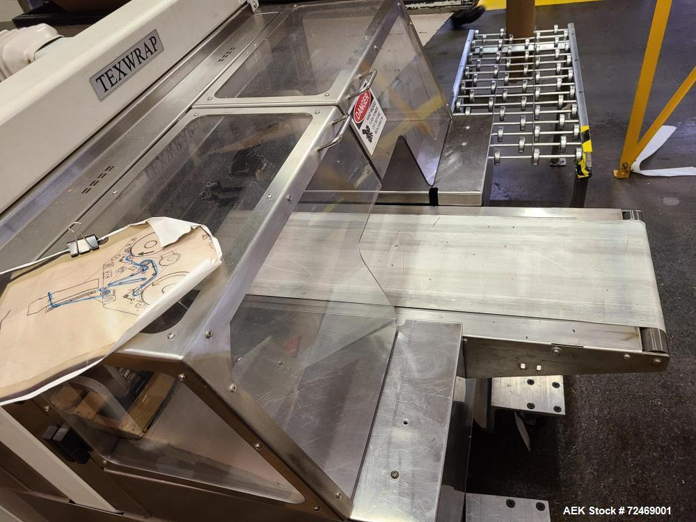 Used-Texwrap (Pro-Mach) Horizontal Lap Sealer with Heat Tunnel