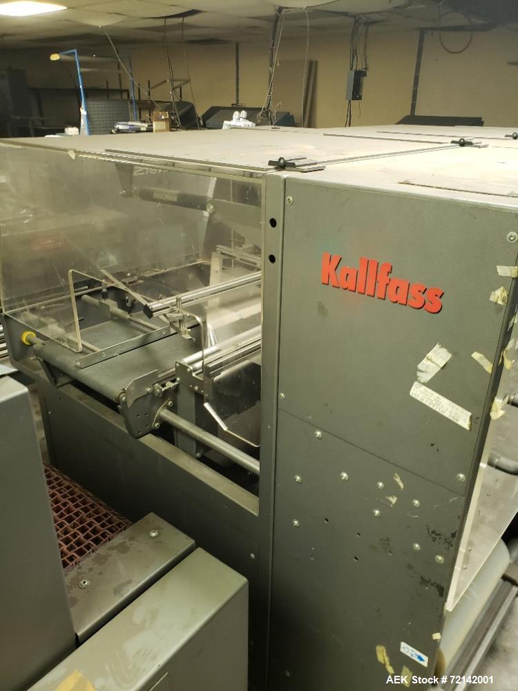 Used- Kalfass Horizontal Side Sealer, Model Universa 400.