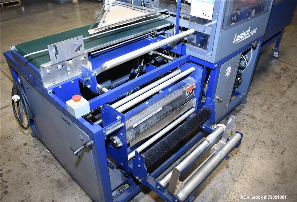 Used- Lantech Side Sealer and Shrink Tunnel, Model SW1000-ST700