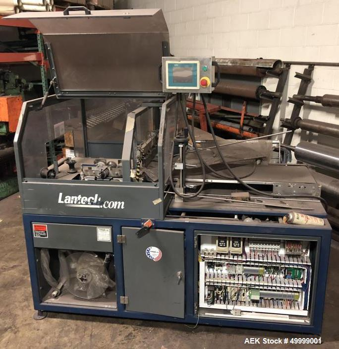 Used- Lantech Model SW Side Seal Shrink Wrapper