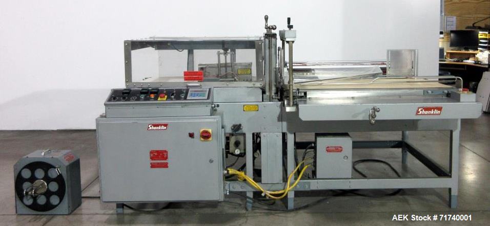 used shanklin model cf 3 automatic side seam shr rh aaronequipment com Omni Shanklin Wrapper Shanklin Distributors