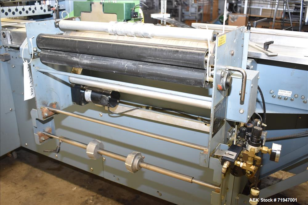 Shanklin Horizontal Side Seal Shrink Wrapper, Model F-5.
