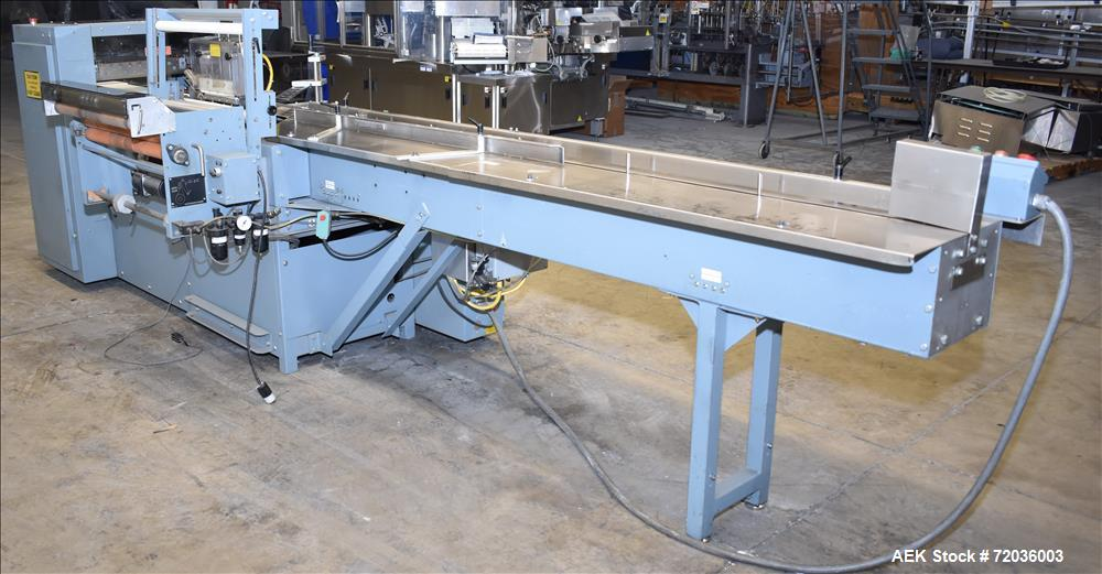 Used- Shanklin Model F5A Automatic Side Seal Shrink Wrapper.