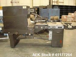 Used- Eastey EM16TT Combination Manual L-Bar Sealer and Shrink Tunnel, Model EM1