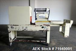"""Interpack L-Bar Sealer and Shrink Tunnel. Seal area approximately 18"""" x 20"""". Shrink tunnel approxim..."""