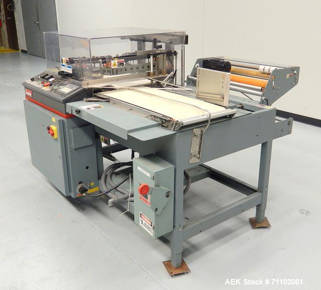 used shanklin model a 26a automatic l bar shrink rh aaronequipment com Shanklin Distributors shanklin shrink wrapper manual