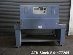 Used- Carbon Steel Eastey Shrink Tunnel, Model ET2008