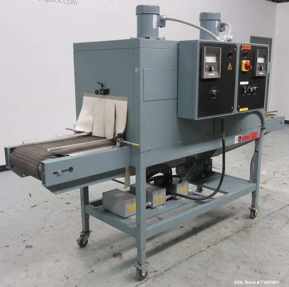 used- shanklin model ct62 dual zone shrink tunnel shanklin heat tunnel wiring diagrams