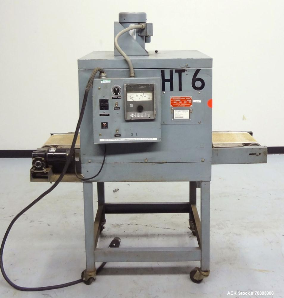 Used- Shanklin T-6XL Single Chamber Shrink Tunnel