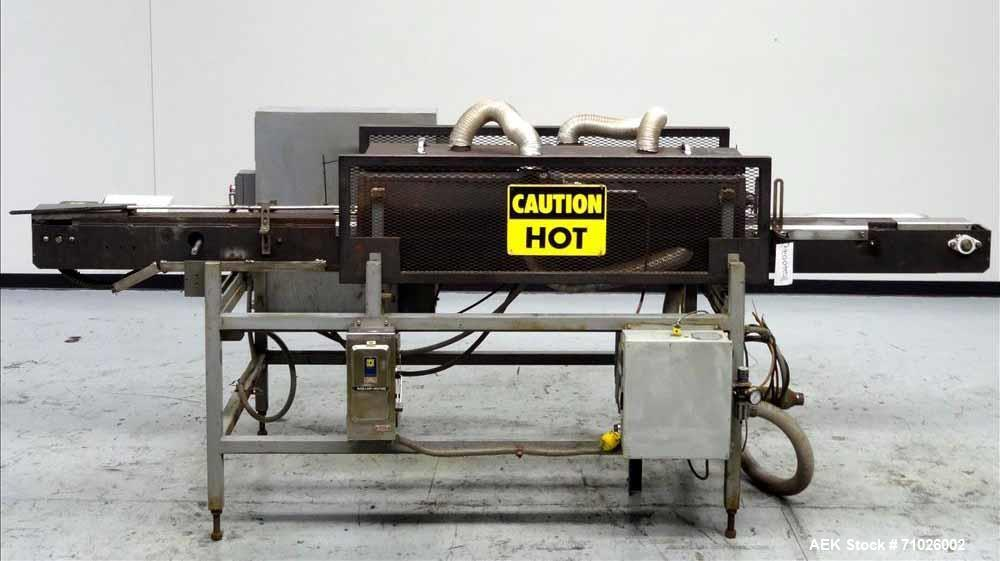 Used- Trine Shrink Tunnel for Sleeve Labeling