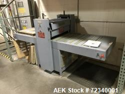 Used-Visual Packaging Corp. Die Cutting Machine