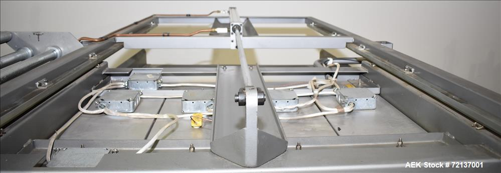 """Used-Visual Packaging System CTIF 3036 Skin Packaging Machine. Capable of 30"""" x 36"""" Card Size, 10"""" Product Height, and a Max..."""
