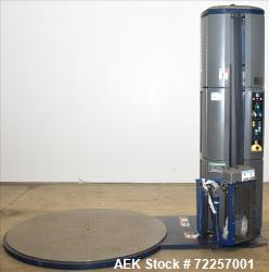 Used-Lantech Stretch Wrapper, Model: Q300, Low profile. Column style.  Unit is rated from 5 to 35 pallets per hour - dependi...