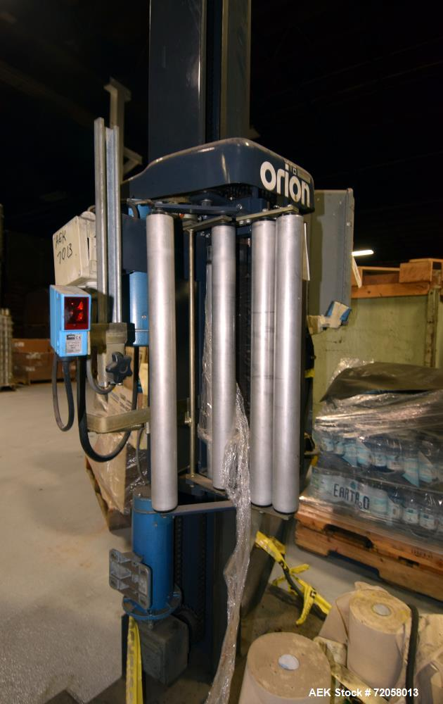 Used- Orion Packaging Dual Station Stretch Wrapper, Model H66-10DTHT