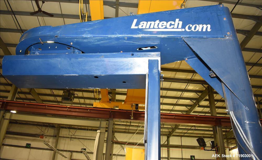 Lantech Model S-300 Spira/straddle typl Stretch Wrapper