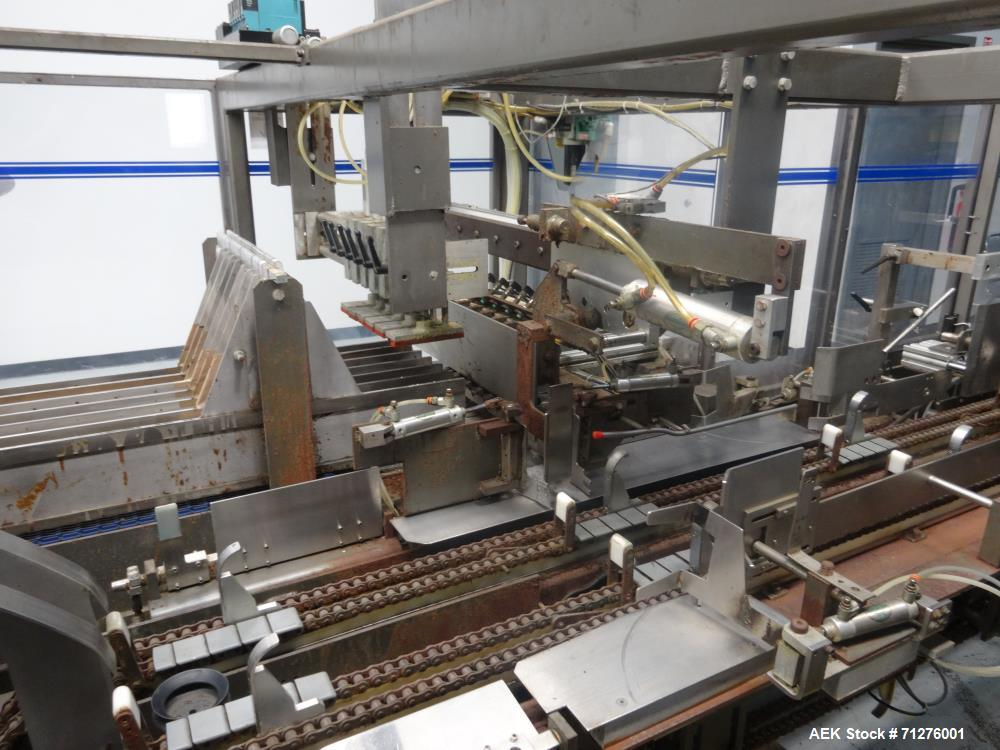 Used- Arpac Model EL-2222 Intermittent Motion End-Load Tray/Case Packer