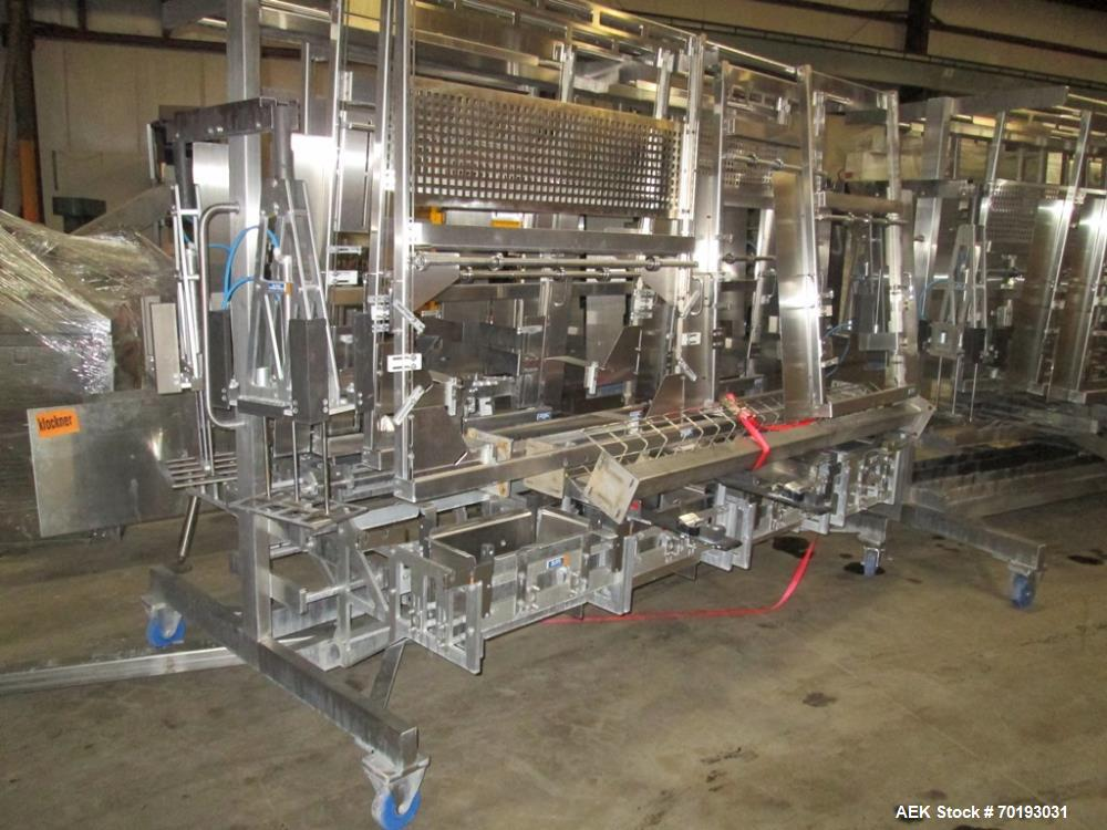 Used- Delkor Trayfecta S Series Former