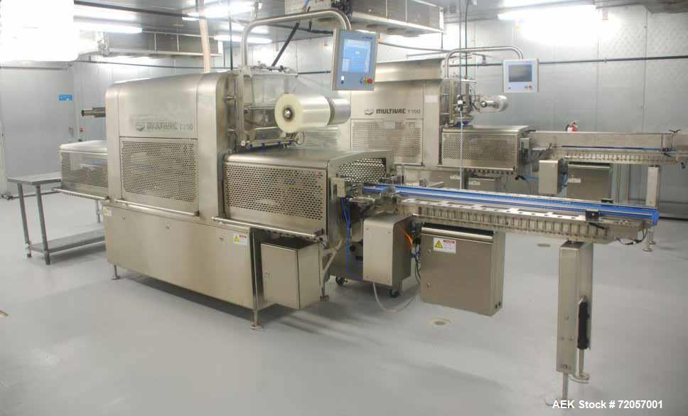 Used- Multivac Model T-700 MAP and Skin Tray Sealer