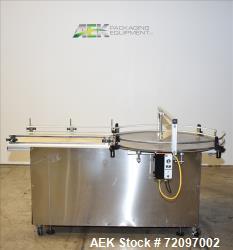 "48"" Diameter Equipment Express (E-Pak) Accumulatoin Table."