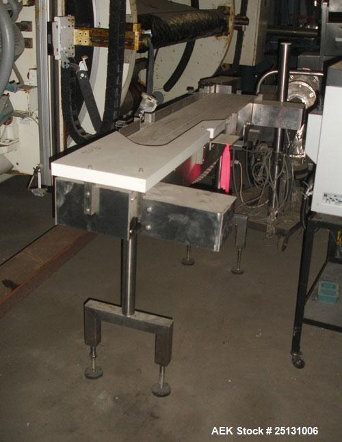Used- Slat Bi-Flow Belt Conveyor