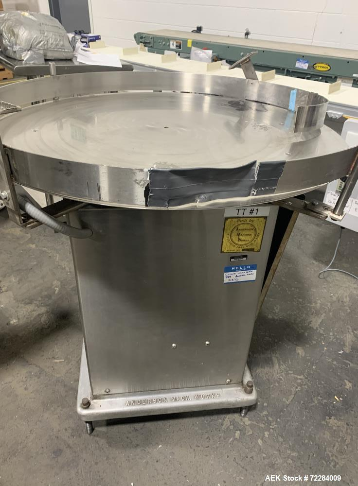 Used- WPM Stainless Steel Rotary Turntable