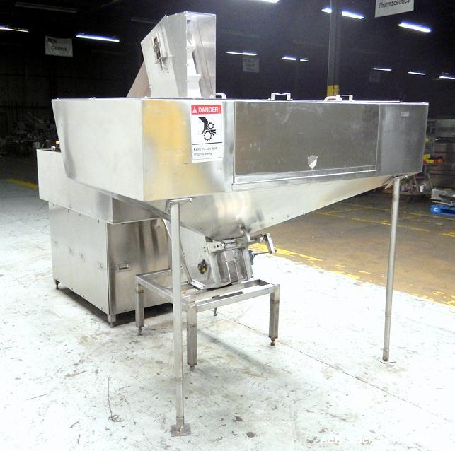 Used- New England Machinery Model NEH-200 Bulk Bottle Unscrambler