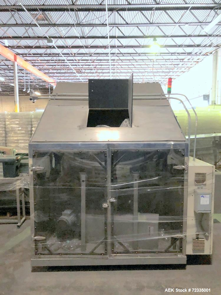 Used-Posimat Access Series N15 Rotary Bottle Unscrambler System with Bulk Feed